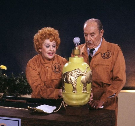 lucille ball in life with lucy