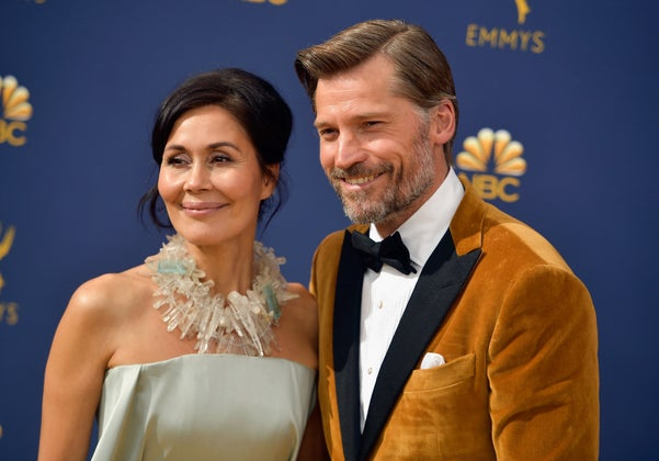 Nikolaj Coster-Waldau and Nukaaka Coster-Waldau