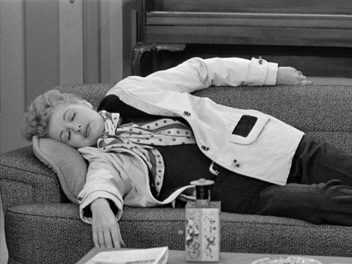 lucille ball tired