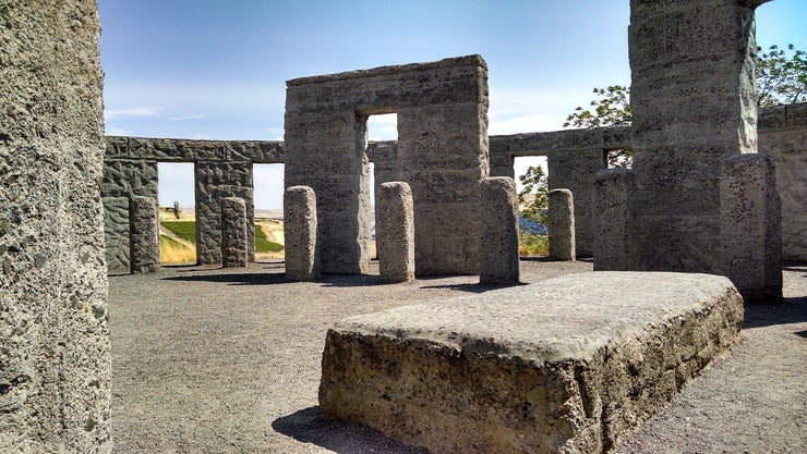 Washington Columbia Memorial Stonehenge Maryhill
