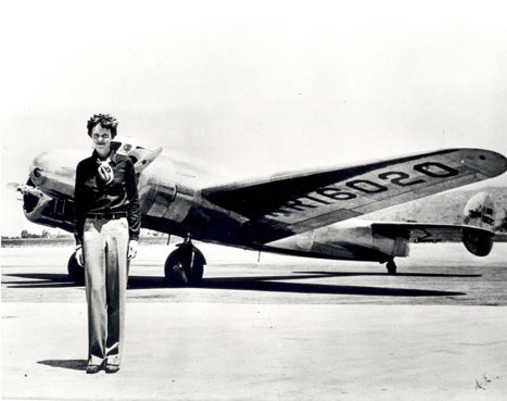 earhart and electra e10