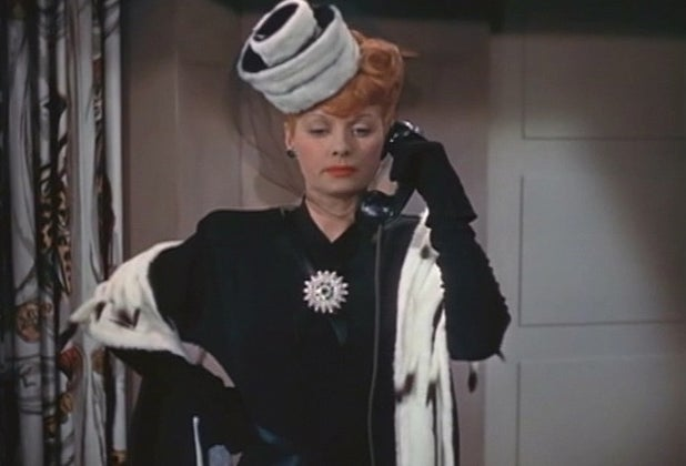 lucille ball on phone