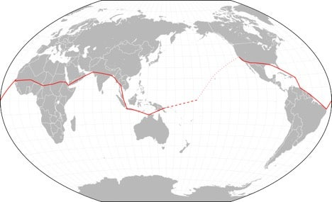 earhart's route