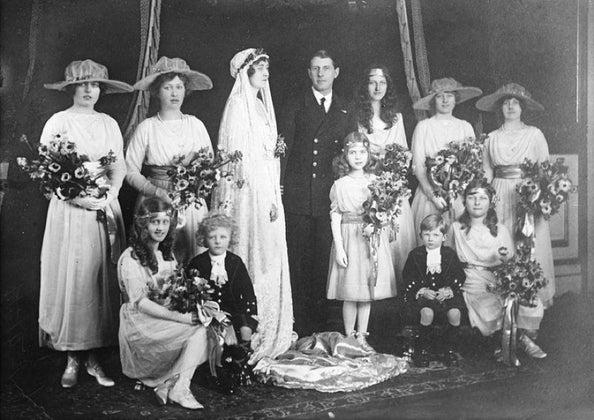 1918 wedding