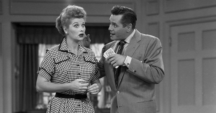 lucille ball and desi arnaz shocked