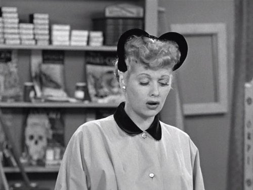 lucille ball sad