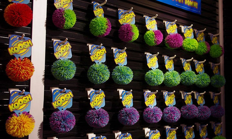 Koosh Ball Wall