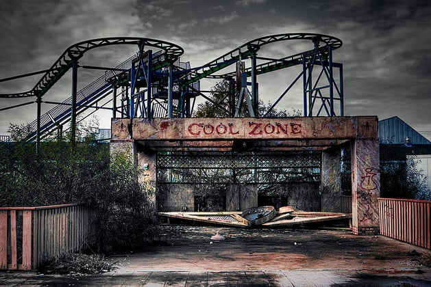 Cool Zone abandoned Six Flags New Orleans