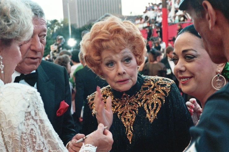 lucille ball at show