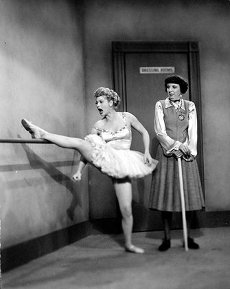 lucille ball dancing
