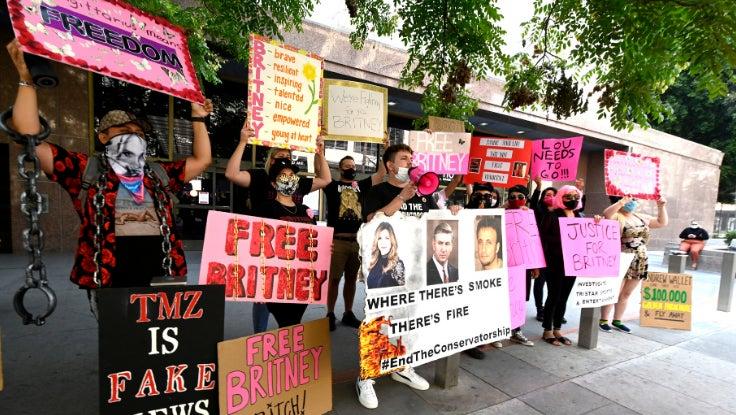 Freebritney Protest
