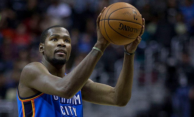 Kevin Durant Free Throw 2014