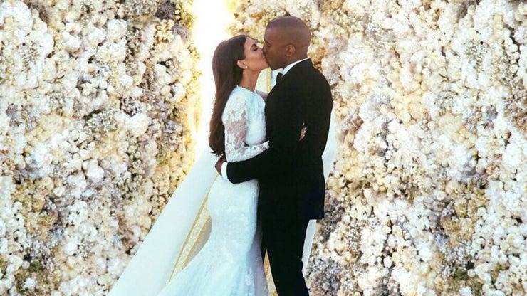 Narcicismo Kim And Kanye Wedding