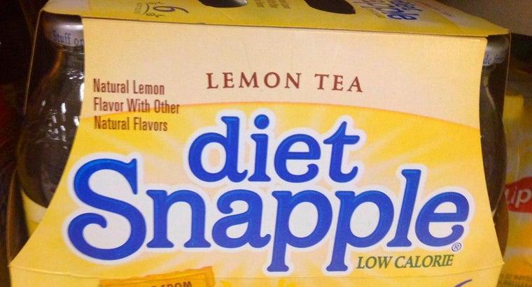 is diet snapple caffeine free