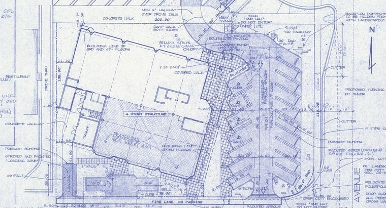 blueprints-existing-building