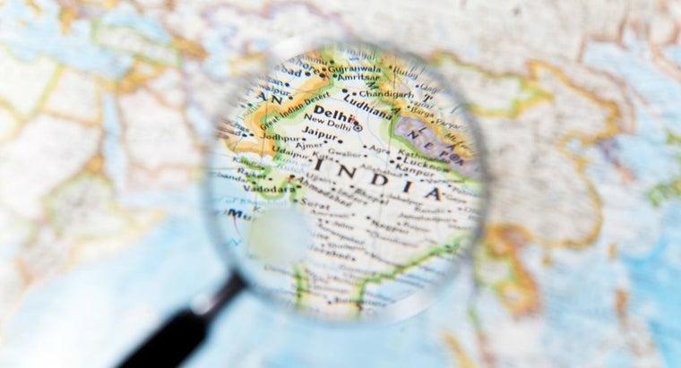 continent-india-located