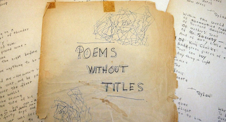 conventions-poetry