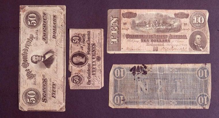 value-confederate-money